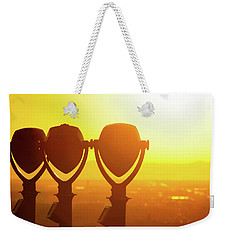Weekender Tote Bag featuring the photograph Bright Visions by SR Green