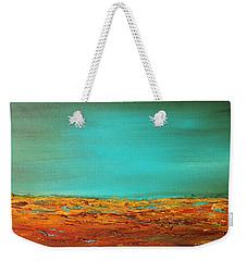 Bright Waves 2 Weekender Tote Bag