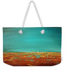 Bright Waves 3 Weekender Tote Bag