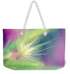 Bright Weed Weekender Tote Bag by Terry Davis