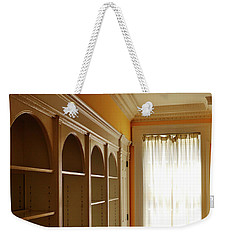 Weekender Tote Bag featuring the photograph Bright Window by Zawhaus Photography