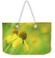 Bright Yellow Flower Weekender Tote Bag