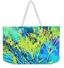 Weekender Tote Bag featuring the digital art Brighter Day by Shawna Rowe