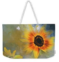 Brighter Than Sunshine Weekender Tote Bag by Eva Lechner