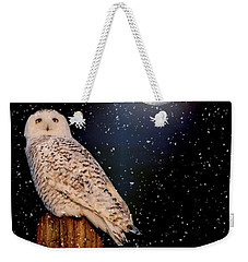 Brighter Than The Moonlight Weekender Tote Bag by Heather King
