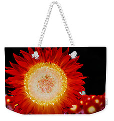 Brighter Than The Sun Flower Weekender Tote Bag