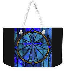Brillant Blue Weekender Tote Bag