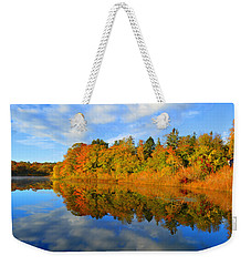 Brilliance Of Autumn Weekender Tote Bag