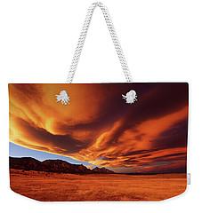 Brilliance Over Boulder Weekender Tote Bag