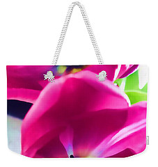 Weekender Tote Bag featuring the photograph Brilliance by Roberta Byram
