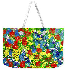 Brilliant Florals Weekender Tote Bag