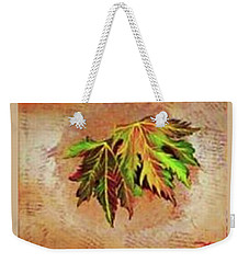 Brilliant Is The Color Of Autumn  Weekender Tote Bag by Talisa Hartley