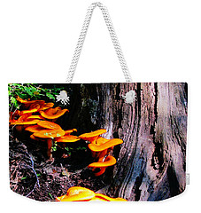Brilliant Orange Weekender Tote Bag