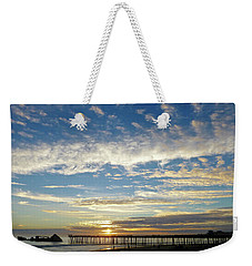 Brilliant Sunset Seacliff, Ca Weekender Tote Bag