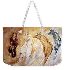 Bringers Of The Dawn Section Of Mural Weekender Tote Bag