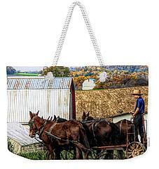 Bringing It Home In Lancaster County, Pennsylvania Weekender Tote Bag