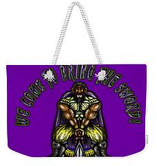 Bringing The Sword Weekender Tote Bag