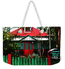 Brisbane Queenslander Weekender Tote Bag