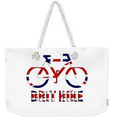 Brit Bike Weekender Tote Bag