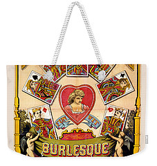 British Blonde Burlesque Troupe Weekender Tote Bag by Carsten Reisinger