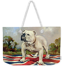 British Bulldog Weekender Tote Bag by English School