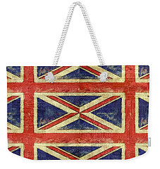 British Flag Collage Two Weekender Tote Bag
