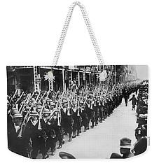 British Troops In Hong Kong Weekender Tote Bag