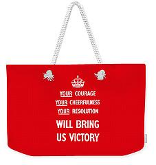 British Ww2 Propaganda Weekender Tote Bag
