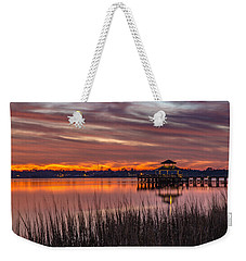 Brittlebank Park Dock Charleston Sc Weekender Tote Bag
