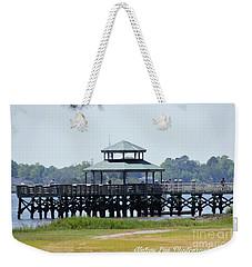 Brittlebank Park Pier Weekender Tote Bag