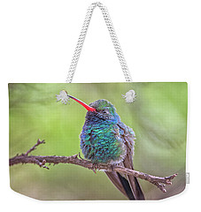 Broad-billed Hummingbird 3652 Weekender Tote Bag