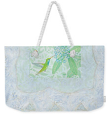 Broad-billed Hummingbird Weekender Tote Bag