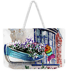 Broadies By The Sea In Staithes Weekender Tote Bag