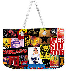 Broadway 10 Weekender Tote Bag by Andrew Fare