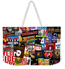Broadway 3 Weekender Tote Bag