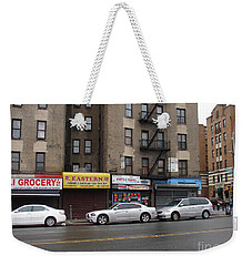 Broadway And Thayer Street In 2104 Weekender Tote Bag by Cole Thompson