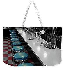 Broadway Diner Chairs Weekender Tote Bag