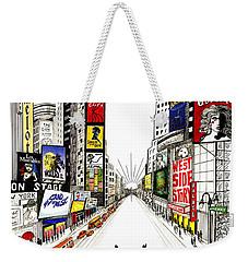Broadway Dreamin' Weekender Tote Bag