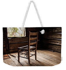 Weekender Tote Bag featuring the photograph Broken Chair by Doug Camara