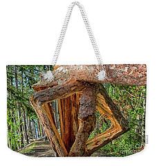 Broken In The Forest Weekender Tote Bag