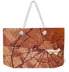Broken  Weekender Tote Bag by Phil Cardamone
