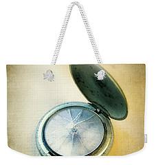 Broken Pocket Watch Weekender Tote Bag by Jill Battaglia