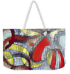 Weekender Tote Bag featuring the digital art Broken Soul by Lucia Sirna
