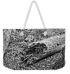 Weekender Tote Bag featuring the photograph Broken Tree by Maggy Marsh
