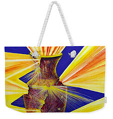 Broken Vessel Weekender Tote Bag by Nancy Cupp