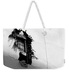 Broken Window Weekender Tote Bag