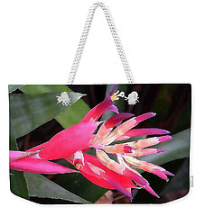 Bromeliad  Weekender Tote Bag by Fred Jinkins