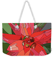 Bromiliad Weekender Tote Bag by Jamie Downs