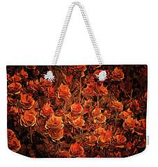 Bronze Roses Weekender Tote Bag