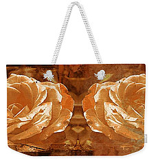 Bronzed Weekender Tote Bag by Clare Bevan